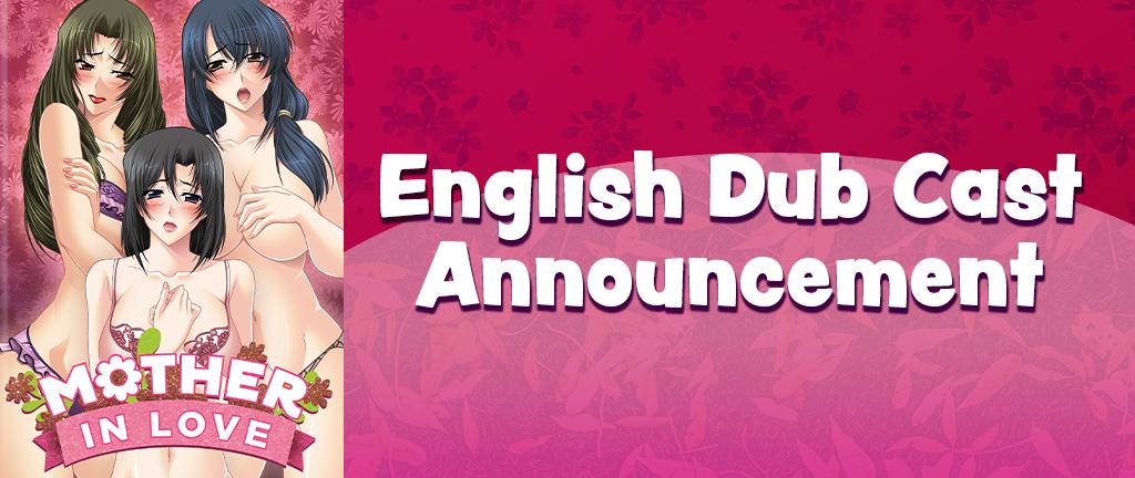 Mother-In-Love (Tsuma No Haha Sayuri) English Dub Cast
